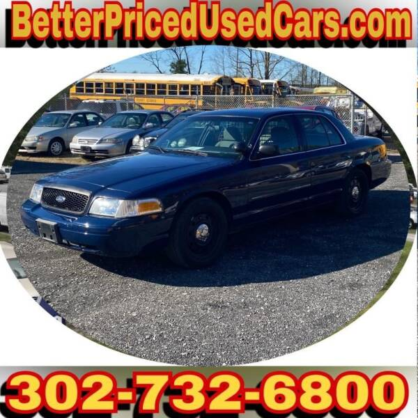 2008 Ford Crown Victoria for sale at Better Priced Used Cars in Frankford DE