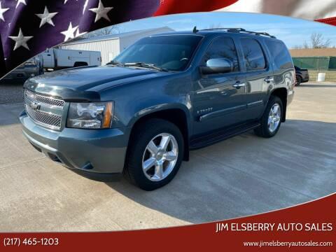 2008 Chevrolet Tahoe for sale at Jim Elsberry Auto Sales in Paris IL
