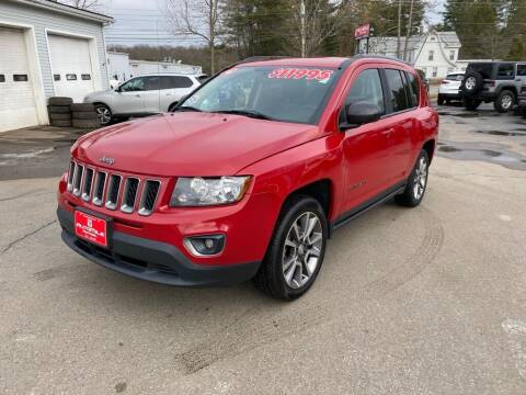 2016 Jeep Compass for sale at AutoMile Motors in Saco ME