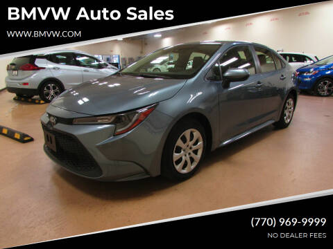 2020 Toyota Corolla for sale at BMVW Auto Sales - Trucks and Vans in Union City GA