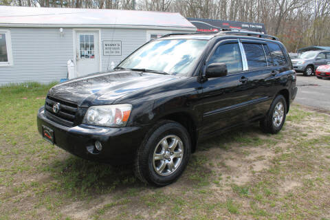 2006 Toyota Highlander for sale at Manny's Auto Sales in Winslow NJ