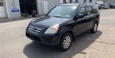 2006 Honda CR-V for sale at Manchester Auto Sales in Manchester CT