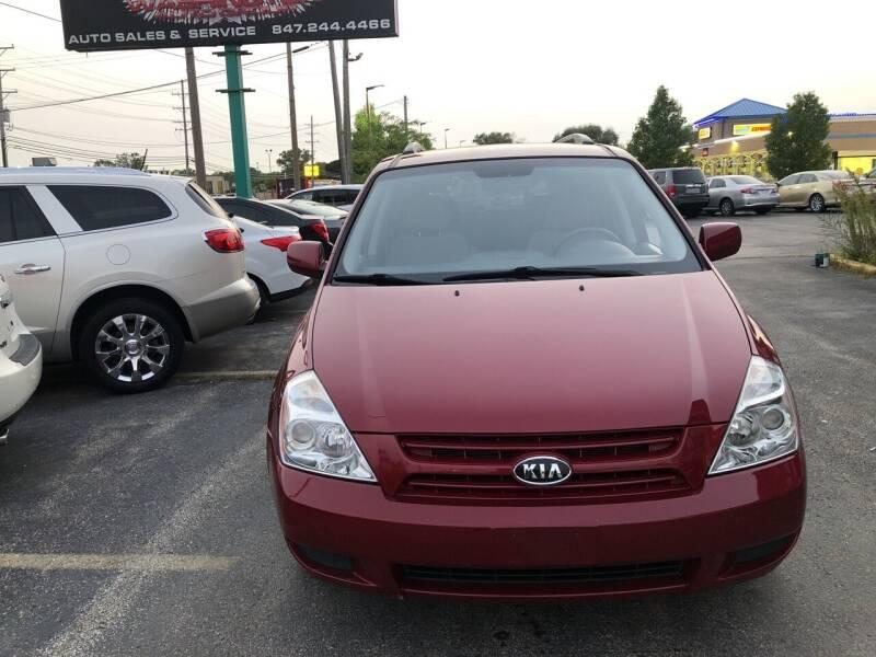 2010 Kia Sedona for sale at Washington Auto Group in Waukegan IL
