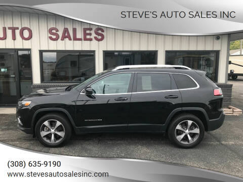 2019 Jeep Cherokee for sale at STEVE'S AUTO SALES INC in Scottsbluff NE