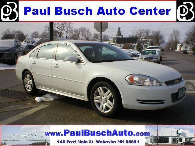 2013 Chevrolet Impala for sale at Paul Busch Auto Center Inc in Wabasha MN