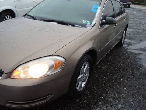 2007 Chevrolet Impala for sale at Branch Avenue Auto Auction in Clinton MD