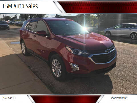 2020 Chevrolet Equinox for sale at ESM Auto Sales in Elkhart IN