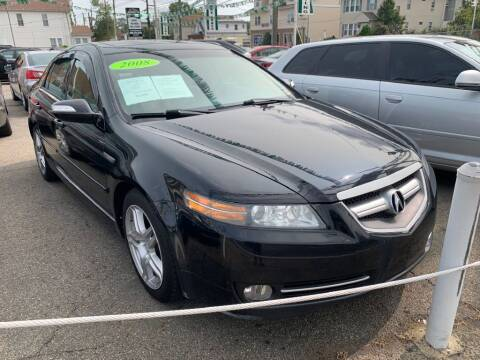2008 Acura TL for sale at Park Avenue Auto Lot Inc in Linden NJ