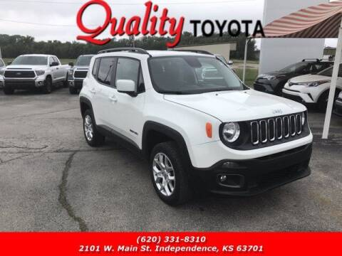 2017 Jeep Renegade for sale at Quality Toyota in Independence KS