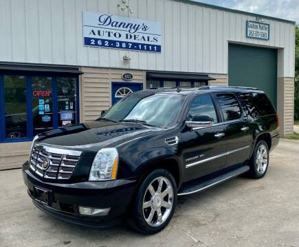 2012 Cadillac Escalade ESV for sale at Danny's Auto Deals in Grafton WI