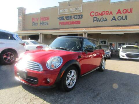 2012 MINI Cooper Hardtop for sale at Import Motors in Bethany OK