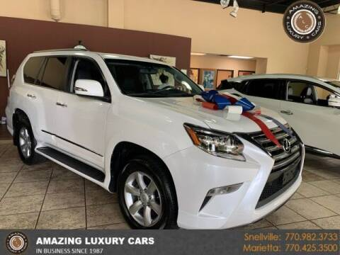 2018 Lexus GX 460 for sale at Amazing Luxury Cars in Snellville GA