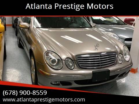 2006 Mercedes-Benz E-Class for sale at Atlanta Prestige Motors in Decatur GA