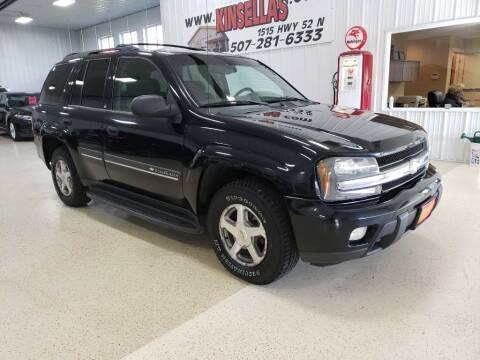 2002 Chevrolet TrailBlazer for sale at Kinsellas Auto Sales in Rochester MN