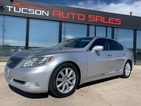 2007 Lexus LS 460 for sale at Tucson Auto Sales in Tucson AZ