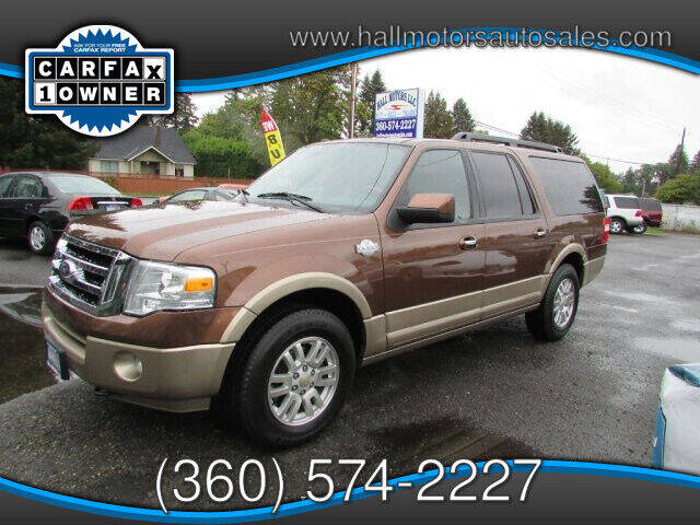 2012 Ford Expedition EL for sale at Hall Motors LLC in Vancouver WA