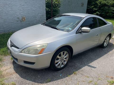 2003 Honda Accord for sale at Noel Motors LLC in Griffin GA