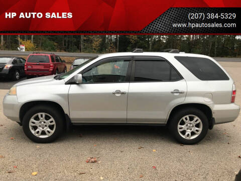 2006 Acura MDX for sale at HP AUTO SALES in Berwick ME