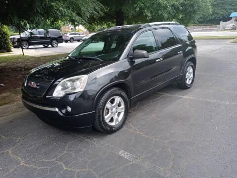 2011 GMC Acadia for sale at Key Auto Center in Marietta GA