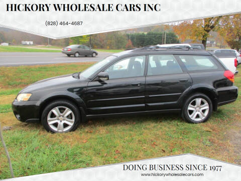 2006 Subaru Outback for sale at Hickory Wholesale Cars Inc in Newton NC