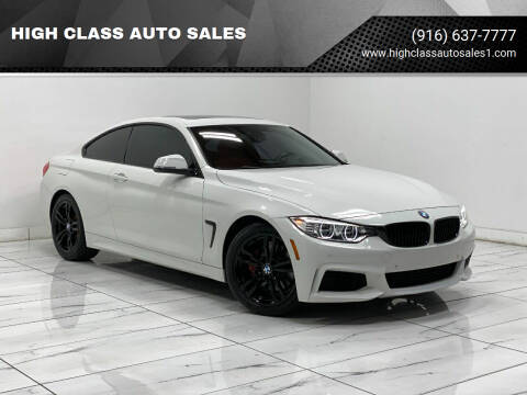 2014 BMW 4 Series for sale at HIGH CLASS AUTO SALES in Rancho Cordova CA