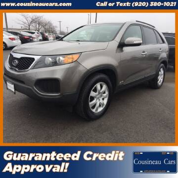 2013 Kia Sorento for sale at CousineauCars.com in Appleton WI