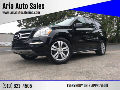 2012 Mercedes-Benz GL-Class for sale at ARIA  AUTO  SALES in Raleigh NC