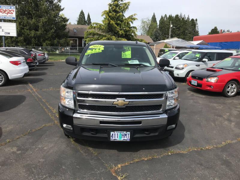 2011 Chevrolet Silverado 1500 for sale at ET AUTO II INC in Molalla OR
