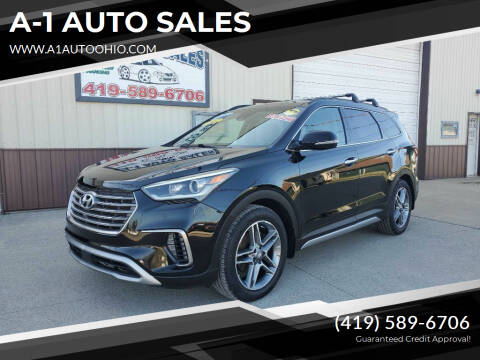 2017 Hyundai Santa Fe for sale at A-1 AUTO SALES in Mansfield OH