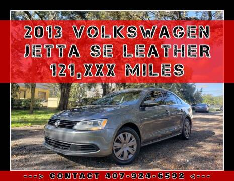 2013 Volkswagen Jetta for sale at AFFORDABLE ONE LLC in Orlando FL