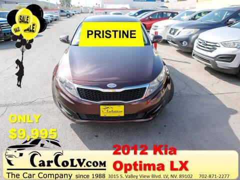 2012 Kia Optima for sale at The Car Company in Las Vegas NV