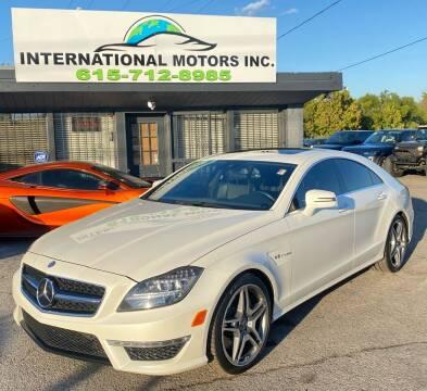 2012 Mercedes-Benz CLS for sale at International Motors Inc. in Nashville TN