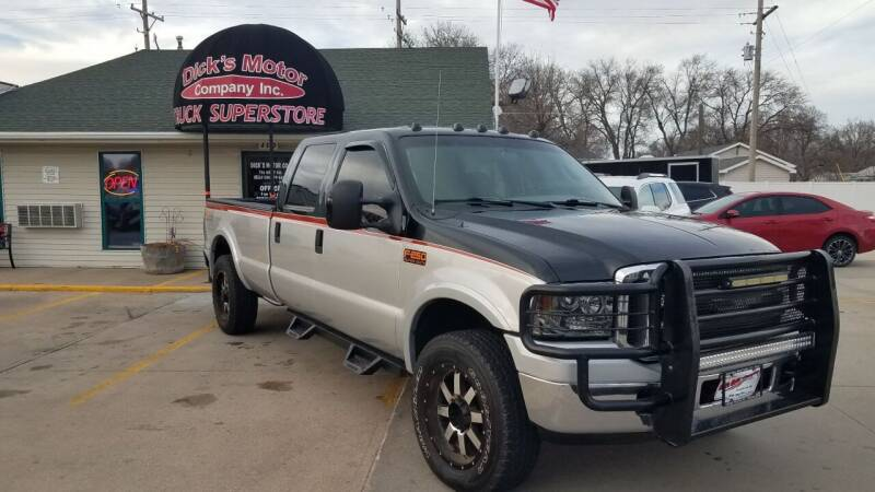 2005 Ford F-250 Super Duty for sale at DICK'S MOTOR CO INC in Grand Island NE