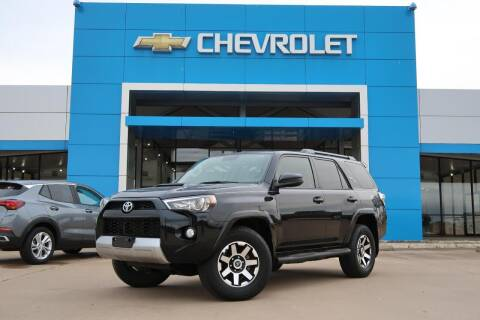 2019 Toyota 4Runner for sale at Lipscomb Auto Center in Bowie TX