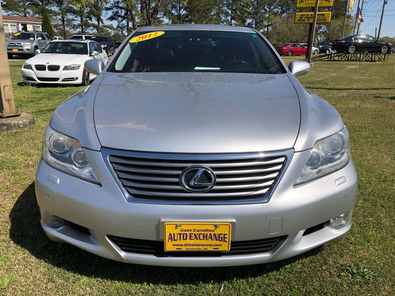 2012 Lexus LS 460 for sale at Greenville Motor Company in Greenville NC