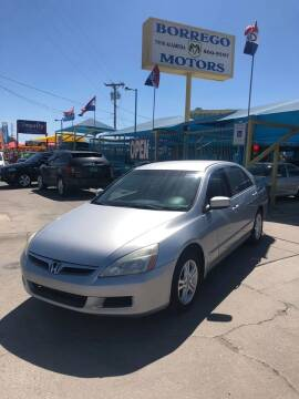 2007 Honda Accord for sale at Borrego Motors in El Paso TX