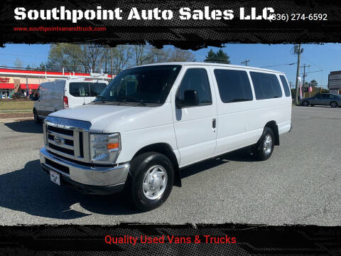 2012 Ford E-Series Wagon for sale at Southpoint Auto Sales LLC in Greensboro NC
