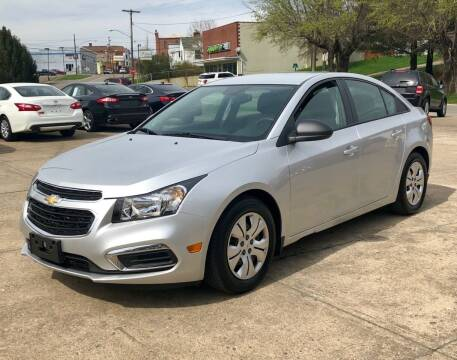 2015 Chevrolet Cruze for sale at Stephen Motor Sales LLC in Caldwell OH