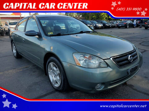 2003 Nissan Altima for sale at CAPITAL CAR CENTER in Providence RI