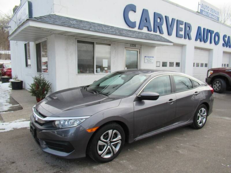 2017 Honda Civic for sale at Carver Auto Sales in Saint Paul MN