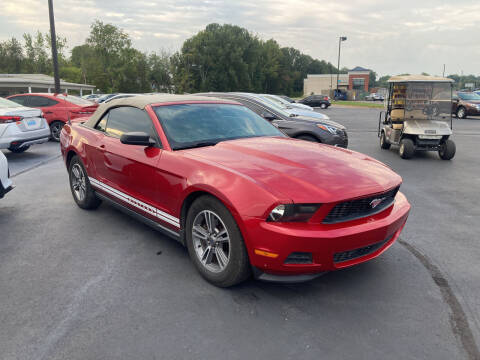 2012 Ford Mustang for sale at McCully's Automotive in Benton KY