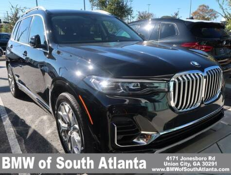 2020 BMW X7 for sale at Carol Benner @ BMW of South Atlanta in Union City GA