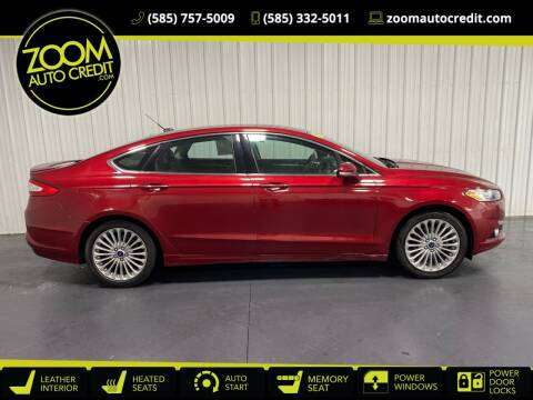 2016 Ford Fusion for sale at ZoomAutoCredit.com in Elba NY