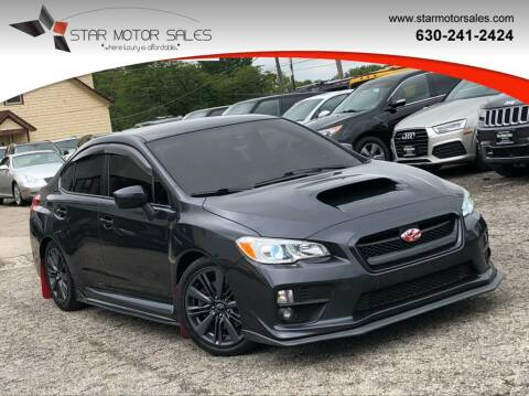 2015 Subaru WRX for sale at Star Motor Sales in Downers Grove IL