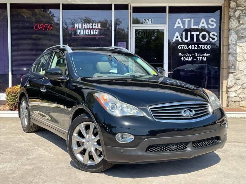 2011 Infiniti EX35 for sale at ATLAS AUTOS in Marietta GA