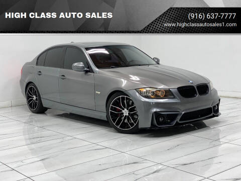 2009 BMW 3 Series for sale at HIGH CLASS AUTO SALES in Rancho Cordova CA