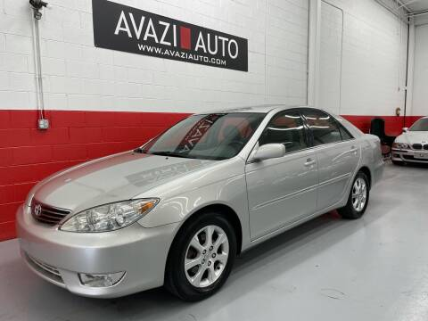 2005 Toyota Camry for sale at AVAZI AUTO GROUP LLC in Gaithersburg MD