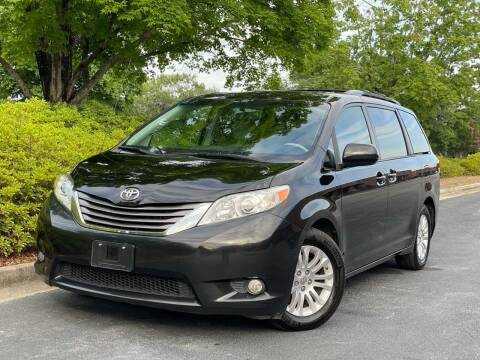 2013 Toyota Sienna for sale at William D Auto Sales in Norcross GA