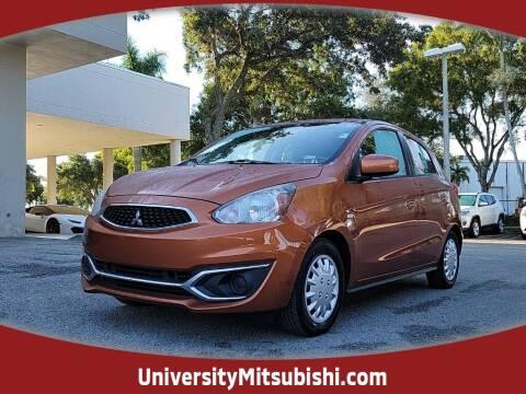 2017 Mitsubishi Mirage for sale at University Mitsubishi in Davie FL