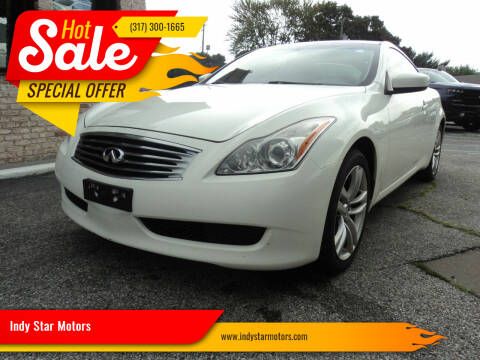 2009 Infiniti G37 Coupe for sale at Indy Star Motors in Indianapolis IN